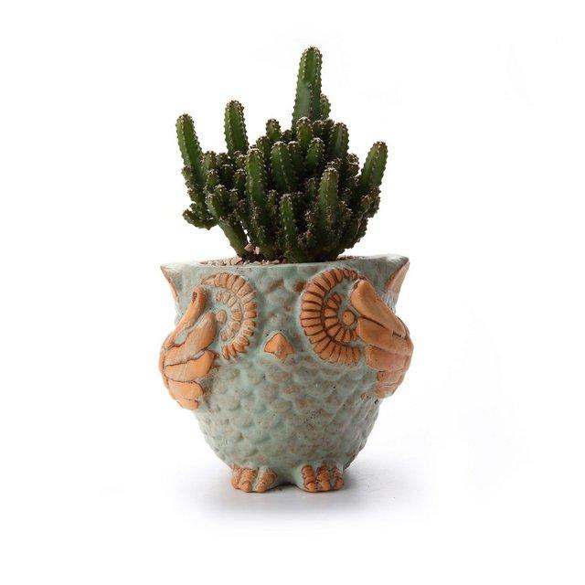 11CM European Series Ceramica Vaso di Fiori Pianta Succulente Cactus Vaso di Fiori Giardino i vasi di Fiori vasi di Piante