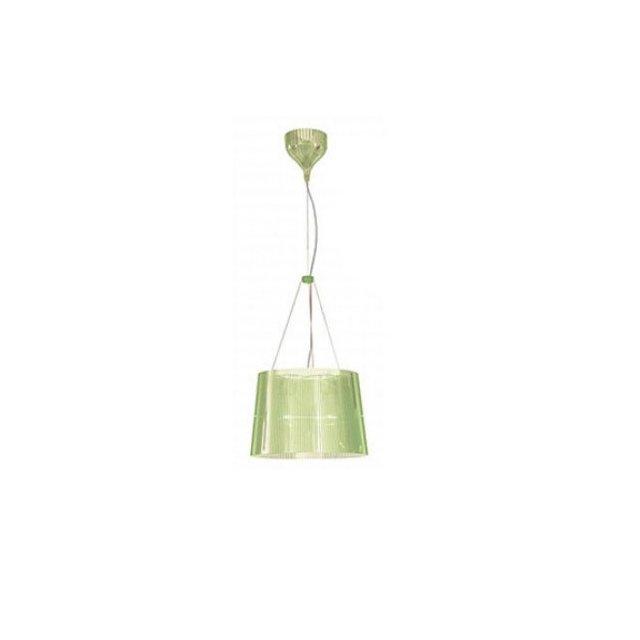 9080P8 Ge Lampadario Colore Verde trasparente vetro