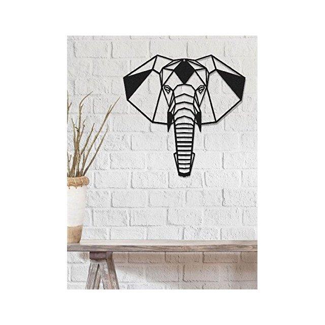 Art & prints mania by Decorazione da Parete Decorazione da Parete Elefante Nero