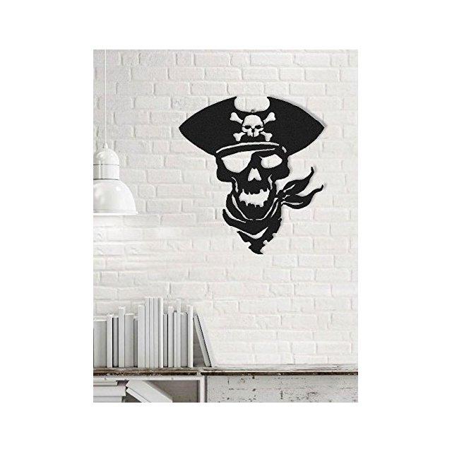 Art & prints mania by Decorazione da Parete Decorazione da Parete Pirata Nero