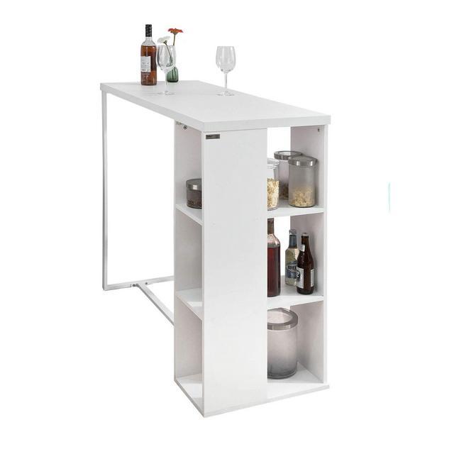 Bancone Bar da casa Tavolo cucina L120*P49*A105 cmBiancoFWT39W