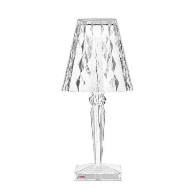 Big Battery Lampada da tavolo Plastica trasparente 373 x 17 cm