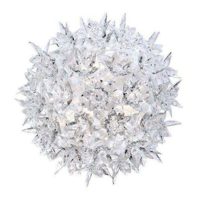 Bloom Cw2 Lampada da Parete G9 Bianco Cristallo  28 cm h 22 cm