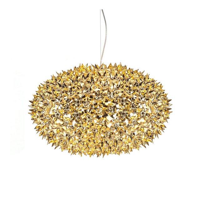 Bloom sfera S1–Lampada a sospensione colore oro lucido