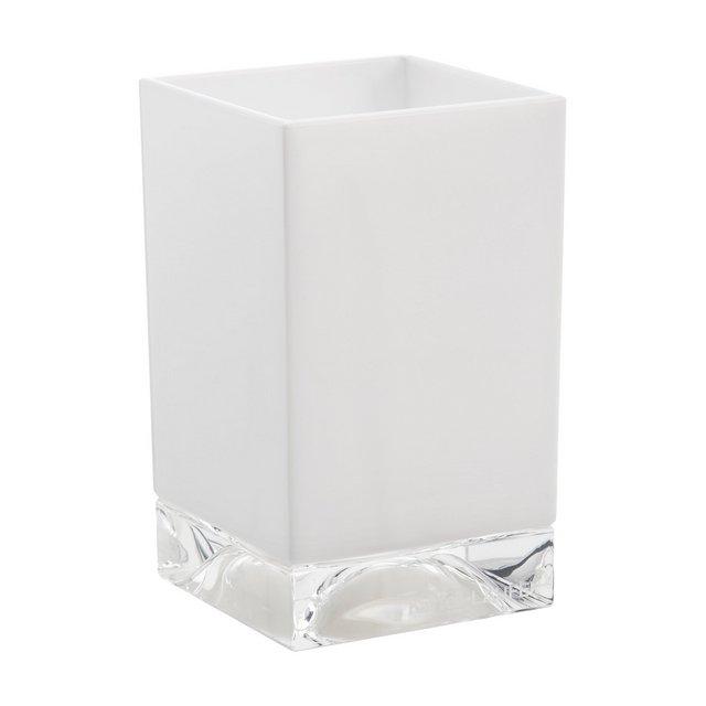 Boxy Porta Spazzolino Bianco