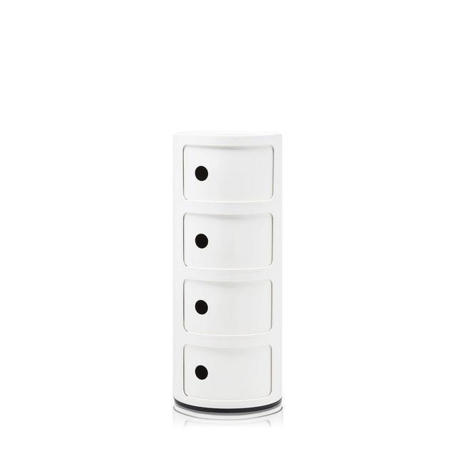 Componibile Contenitore Bianco 32 x 32 x 77 cm