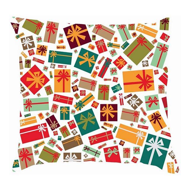 Confezioni Regalo Colorate Fodere per Cuscini Christmasthrow astratte Fodere per Cuscini in Cotone e Lino Federe