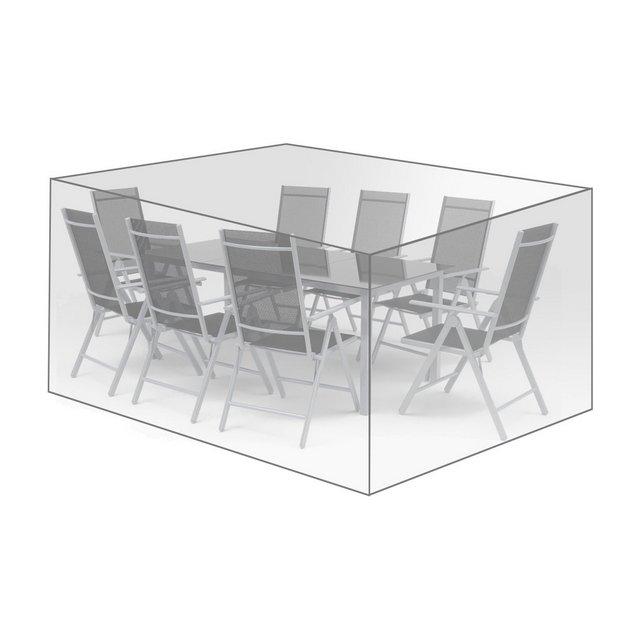 Coperture per Mobili da Giardino Tavoli Sedie Telo di Copertura Protezione Cover PE 250x210x90 cm