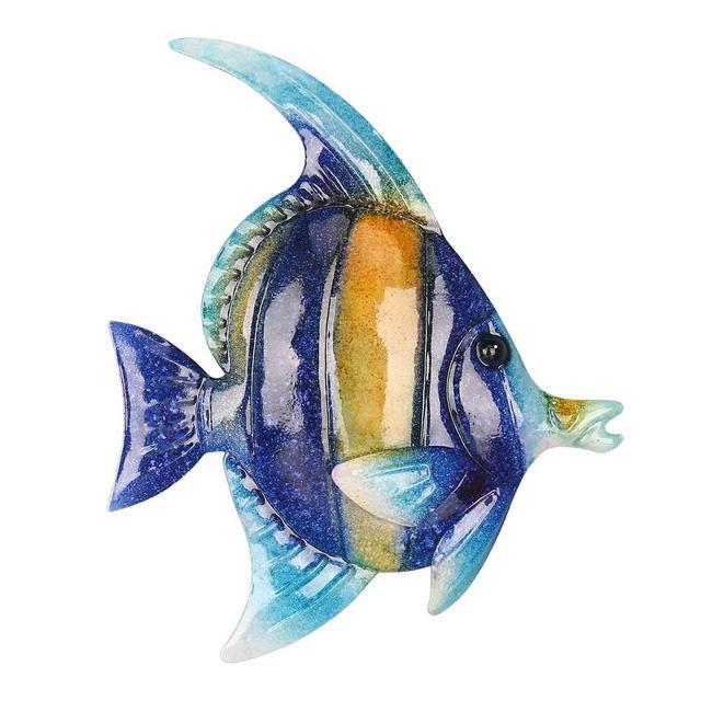 Decorazione Parete Appeso A Parete con Pesci Tropicali 1 Decorazioni per Pareti in Ferro Ormento Creativo Craft 79″ Wall Art Wall Hanging Marine Life