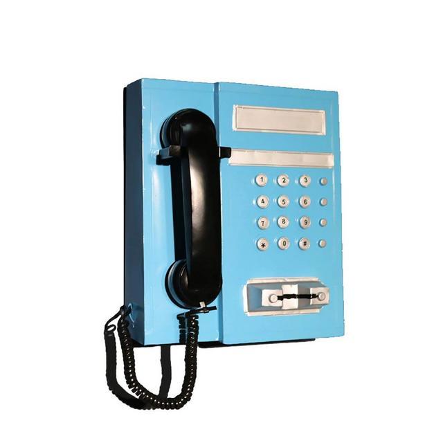 Decorazione del Modello di Telefono A Parete Decorazione Creativa di Bar Ristorante retrò in Ferro Battuto Ciondolo Decorativo Color C