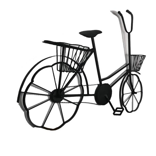 Decorazione della Parete Ferro Battuto Biciclette Industriale Vento Bar Cafe Decorazione 97 × 65 × 10 Cm Ciondolo Decorativo