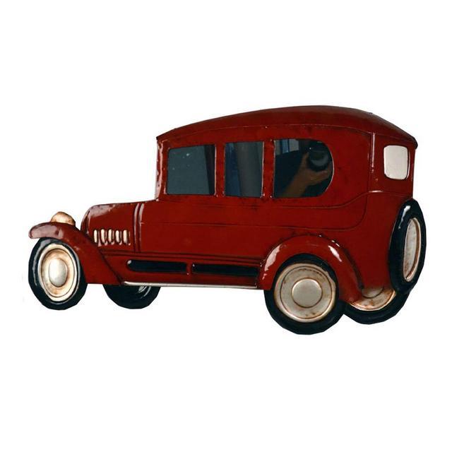 Decorazione della Parete della Barra Creativa del Ferro della Decorazione della Parete di Modello della Retro Automobile Ciondolo Decorativo
