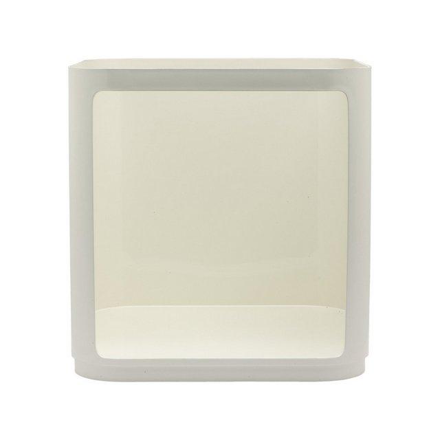 Elemento Quadrato Alto Confezione da 1 Pezzo Bianco