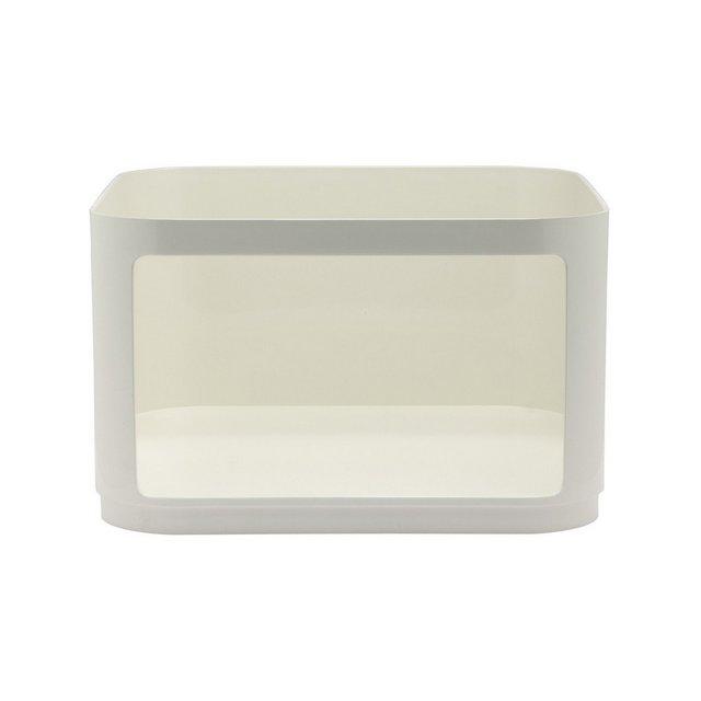 Elemento Quadrato Basso Confezione da 1 Pezzo Bianco