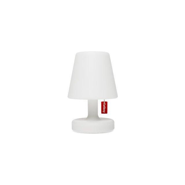 Fatboy Edison the Petit Lampada da tavolo BiancaLampada a LED da esternoLampada da notte Senza FiliWireless & USB ricaricabile