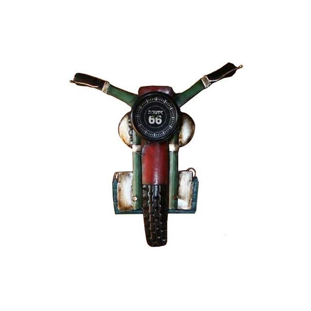Ferro Battuto Decorazioni Moto Bar Cafe Casa Retro Decorazione della Parete 58 × 715 Centimetri Ciondolo Decorativo