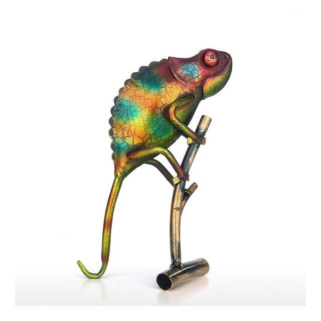 Fesjoy Tooart Lizard Creative Orment Articoli per Arredamento casa Decorazione Art Metal Sculpture Gift