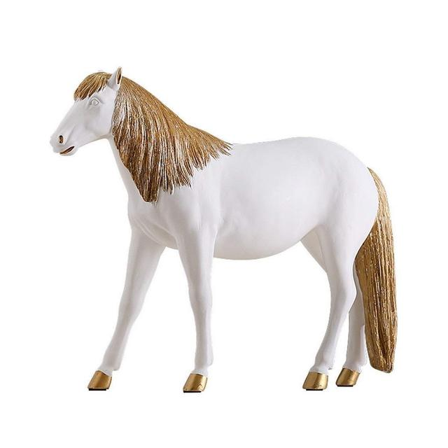 Figurine Sculture Stile Nordico Astratto Moderno Testa di Cavallo Statua Accessori for la Decorazione della casa Stile Pastorale Ormenti for sculture a Cavallo