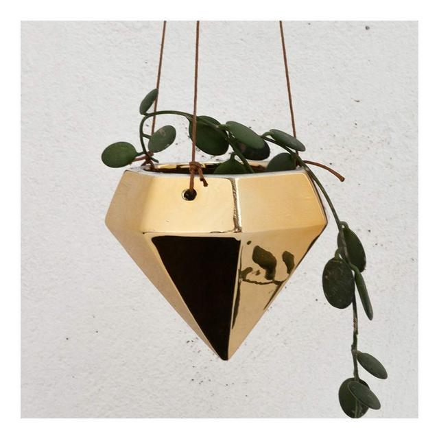 Fioriere sospese Diamante 3D per piante da interno Fioriera per piante da giardino