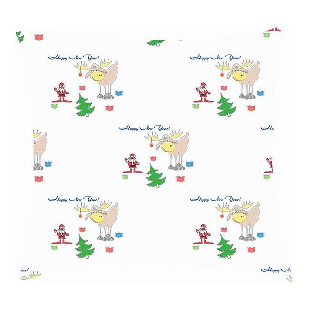 Fodere per Cuscini in Tessuto di Lino di Cotone Feste per Cuscini in Tessuto di Lino per Vacanze astratte