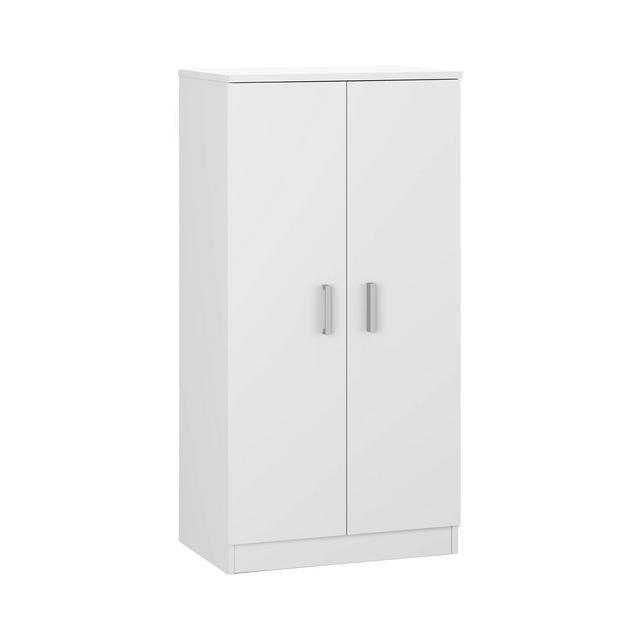 Habitdesign 007813O Scarpiera Basic Mobili ausiliari in colore Bianco Brillante