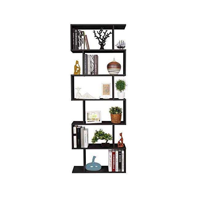 Homfa Scaffale Libreria Mobile Soggiorno in Legno Mobile per Archiviazion Carico