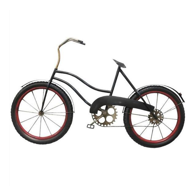 Industrial Vento Ferro Battuto Decorazioni Biciclette Ristorante Bar Decorazione della Parete 112 × 70 × 95 Centimetri Ciondolo Decorativo