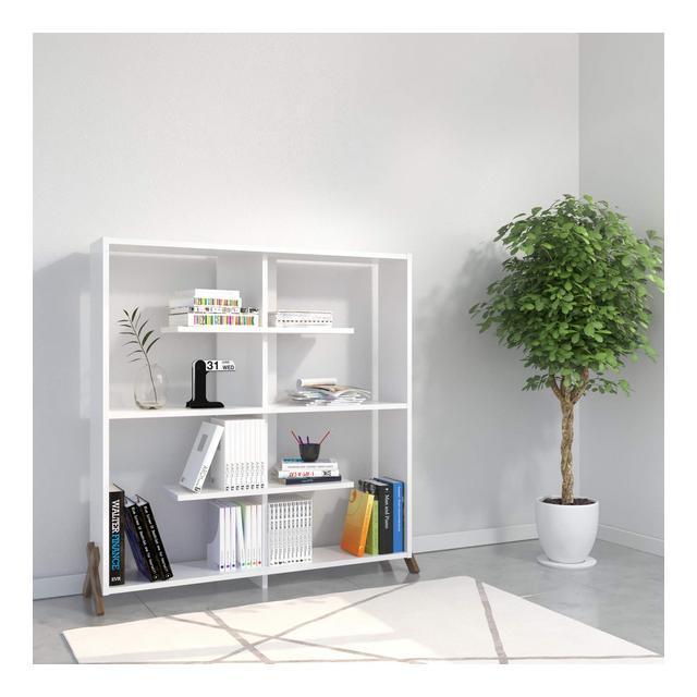 Kipp Libreria Bianco 28 x 115 x 113 cm