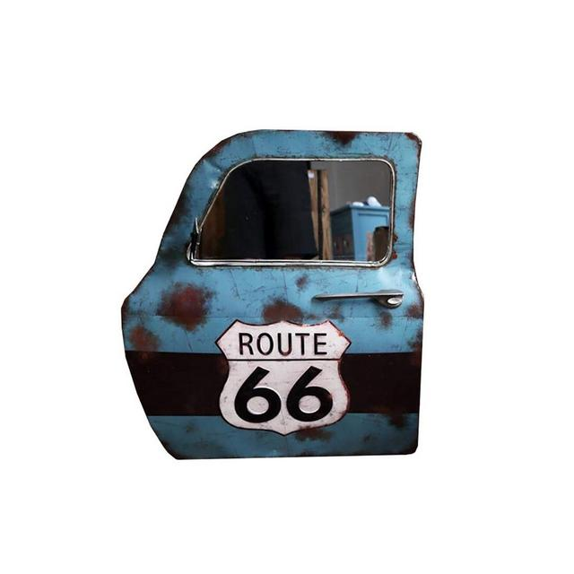 La Decorazione della Parete Loft Bar Industriale del Vento Retro Car Porta in Ferro Battuto Decorazione 59 × 7 × 66 Cm Ciondolo Decorativo Color C