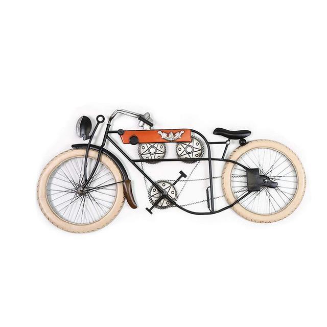 La Decorazione della Parete creatività Tridimensiole Ferro Battuto Retro Decoration Biciclette Ciondolo Decorativo