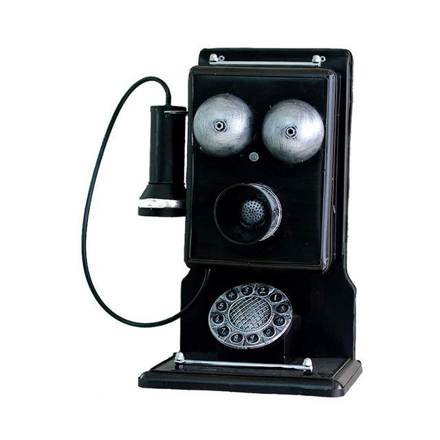 La Decorazione della Parete d'Epoca in Ferro Battuto Telefono Modello Bar Creativo Decorazione Ciondolo Decorativo