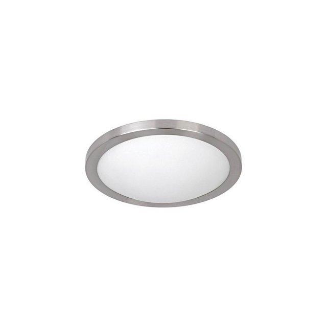Lampada A Soffitto Le Colore Cromo in Metallo e VetroPer Salotto Soggiorno cucina Camera Ufficio E27 30 cm