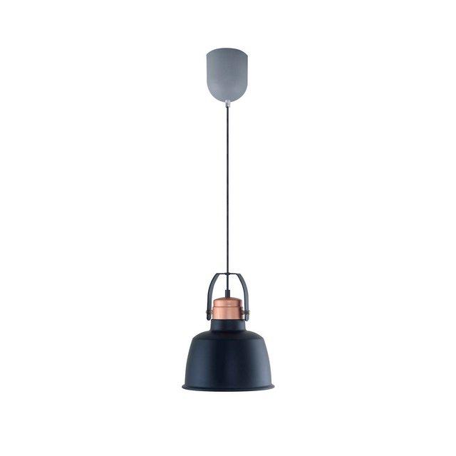 Lampada A Sospensione Bex Colore Nero in MetalloPer Salotto Soggiorno cucina Camera Ufficio E27 40 W Taglia unica