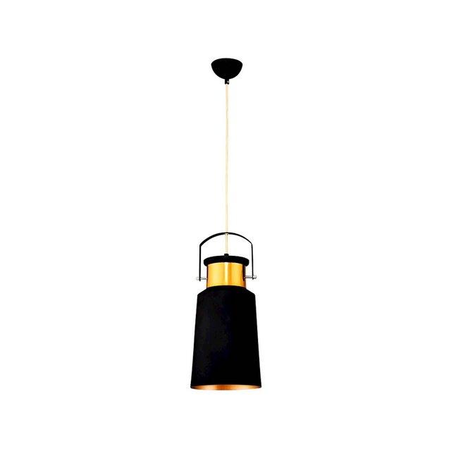 Lampada A Sospensione Polea Colore Nero in MetalloPer Salotto Soggiorno cucina Camera Ufficio E27 40 W Taglia unica