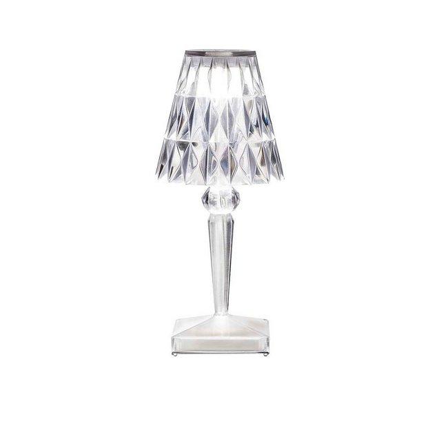 Lampada Da Tavolo Battery Cristallo Cristallo