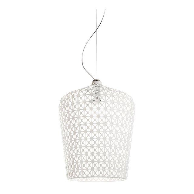 Lampada Kabuki Bianco plastica;tecnopolymère thermoplastique