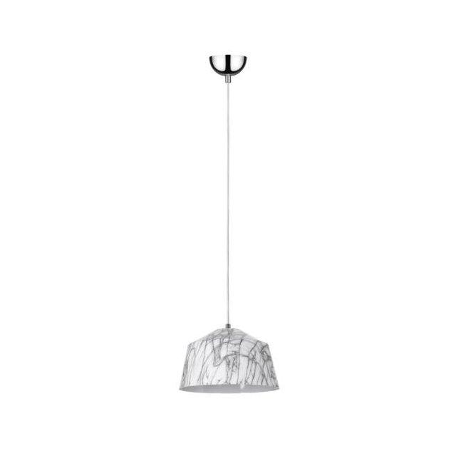 Lampada Sospensione Luce Soffitto Industriale Metallo Bianco Grigio Arredo Design Illumizione Per Soffitto Soggiorno Salotto Ufficio Lampadario Pendente