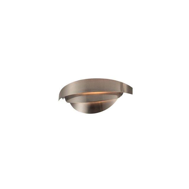 Lampada a Parete Mask Colore Cromo in MetalloPer Salotto Soggiorno cucina Camera Ufficio E14 30 x 12 cm