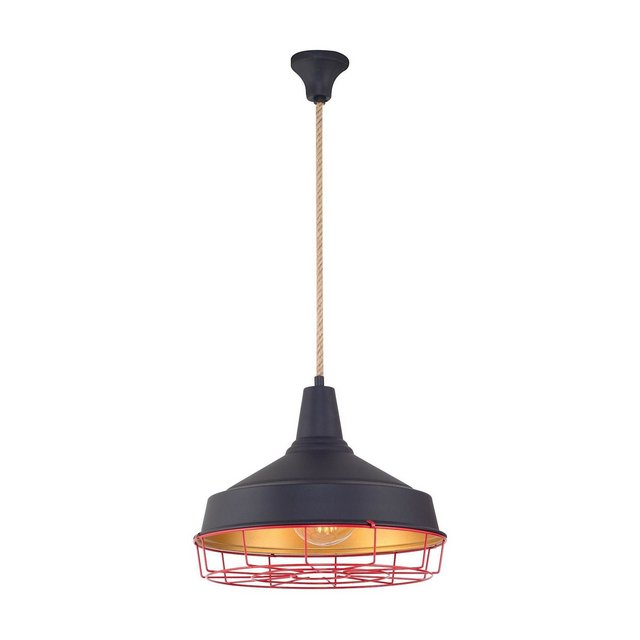 Lampada a Soffitto Newz E27 Nero 40×120 cm