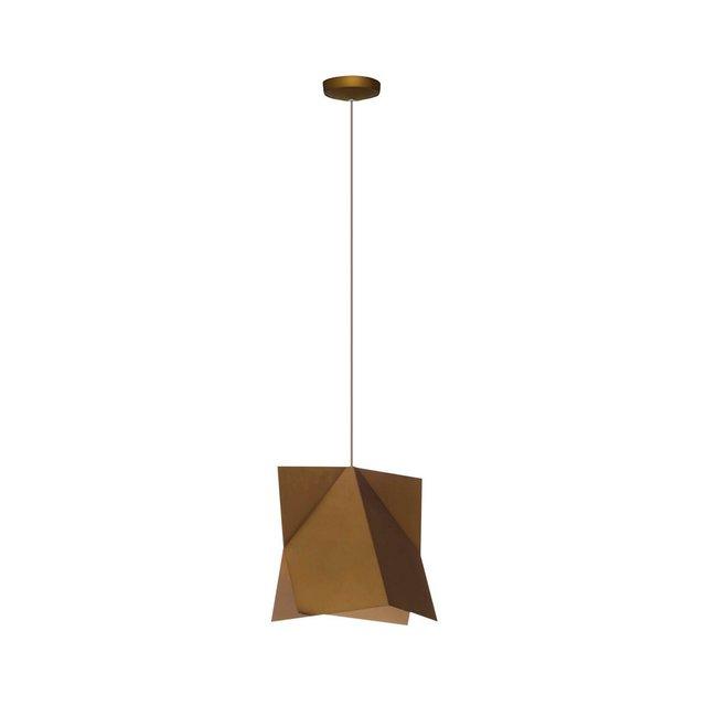 Lampada a Soffitto Newz Metallo Marrone 25 x 120 cm