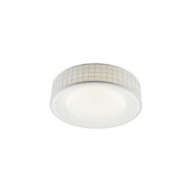 Lampada a Soffitto Salvo Colore Bianco in Metallo Acrilicoper Salotto Soggiorno cucina Camera Ufficio  40 Cm