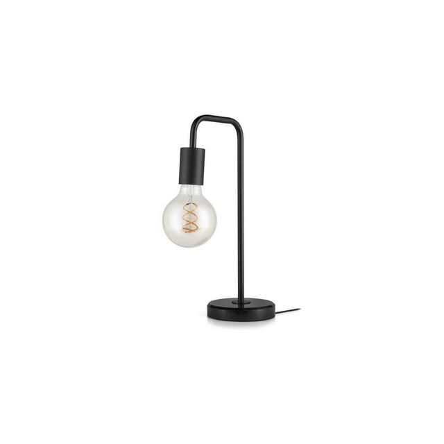 Lampada da tavolo in marmo e metallo lampada da comodino design moderno industriale per scrivania studio soggiorno camera da letto