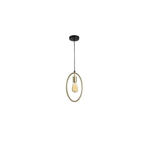 Lampadario vintage industriale Lampadario pendente da soffitto Lampada da sospensione in metallo Portalampada e27 per soggiorno cucina bar Alt fino a 12 m Gold