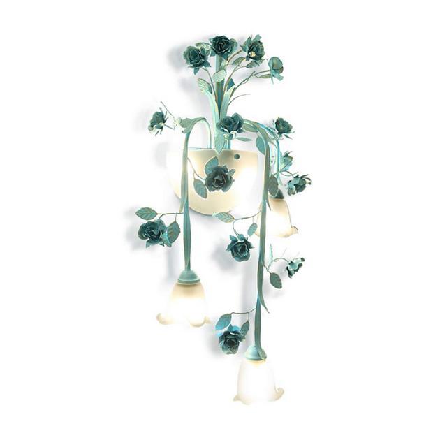 Lampade da Parete Lampada da Parete Applique da Parete in Ferro battuto per Giardino Illumizioni per pareti