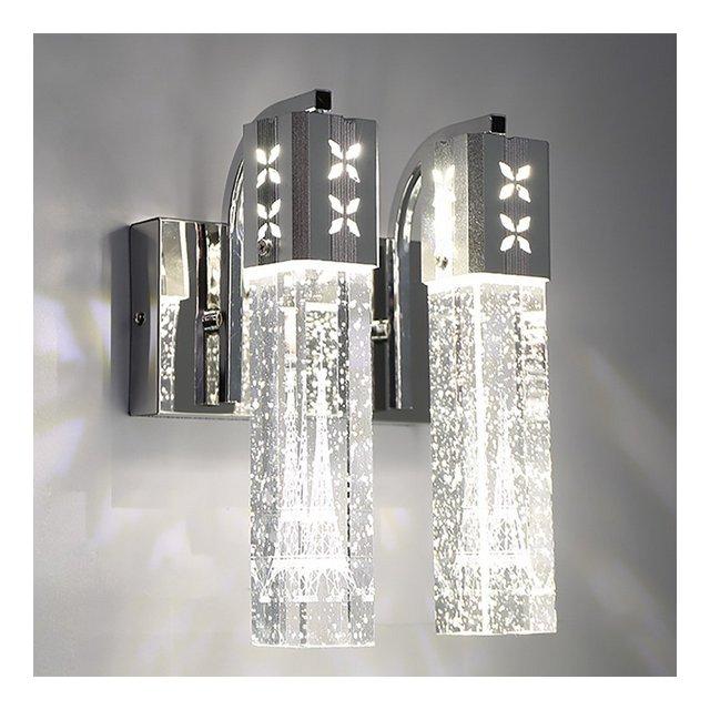 Lampade da Parete Lampada da Parete in Cristallo Bubble Soggiorno corridoio corridoio Camera da Letto Comodino Semplice Lampada da Parete Decorativa Illumizioni per pareti