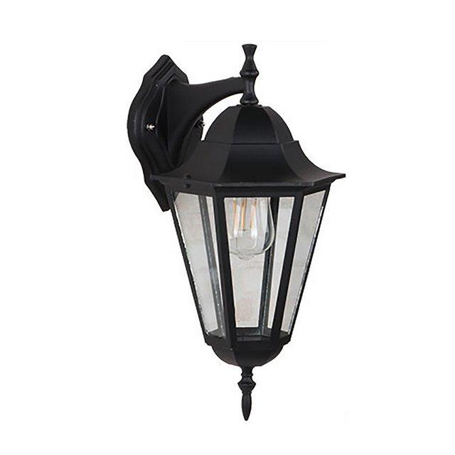 Lampade da parete Applique da parete per esterni in legno antico impermeabile da cortile Apparecchi di illumizione a parete Color B Size 22 * 26 * 41cm