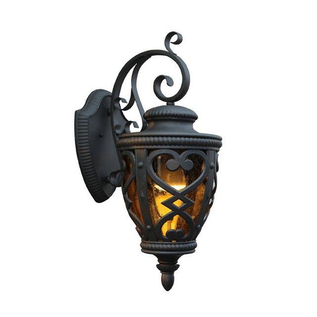 Lampade da parete Lampada da parete ester retro impermeabile cortile corridoio parete ester lampada da parete decorativa Apparecchi di illumizione a parete Size 40 * 25 * 19cm