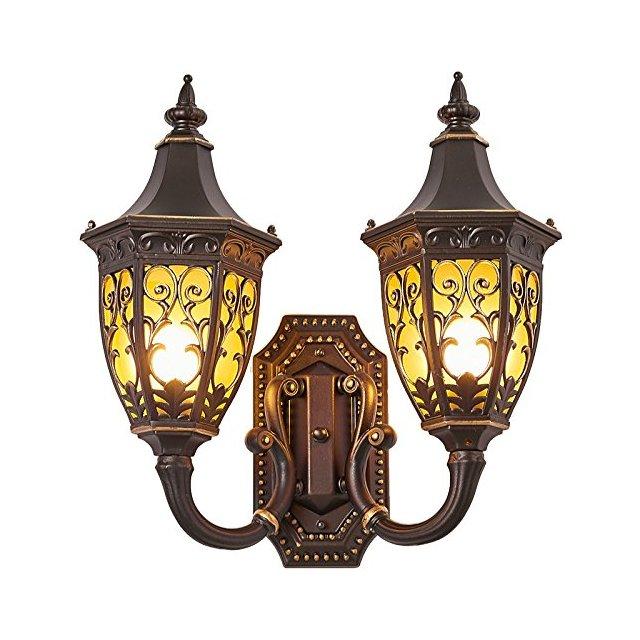 Lampade da parete Lampada da parete ester retro impermeabile patio esterno balcone corridoio villa lampada da parete Apparecchi di illumizione a parete Size 46 * 43 * 20cm