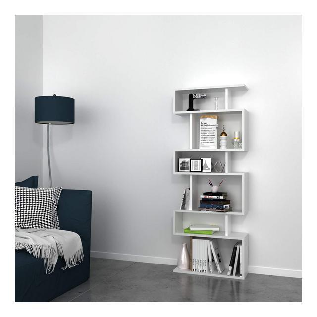Libreria Tablero melami PVC White 60 x 20 x 1566 cm