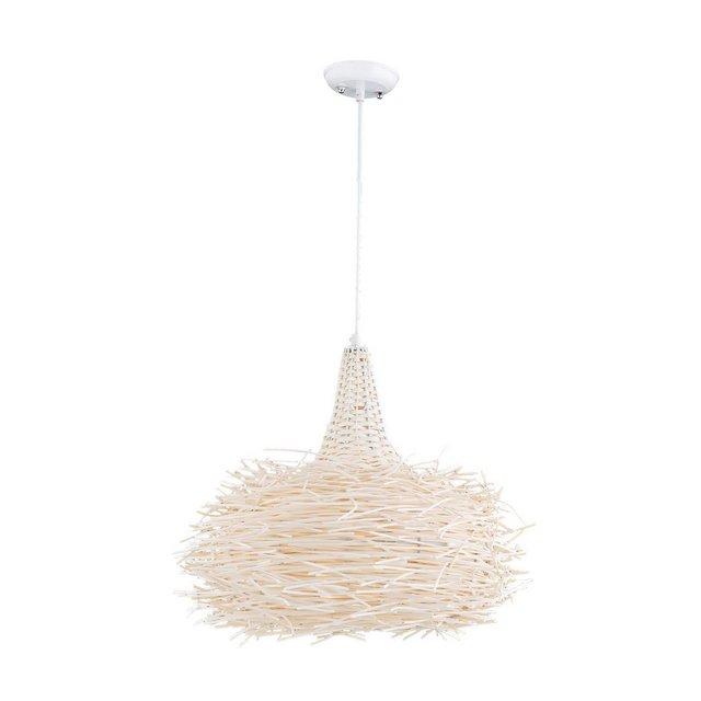 Light & Design Lampada A Sospensione Kasmir Bianco